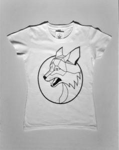 lis damski biały
