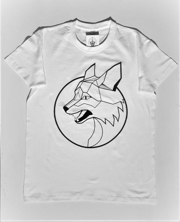 lis męski biały